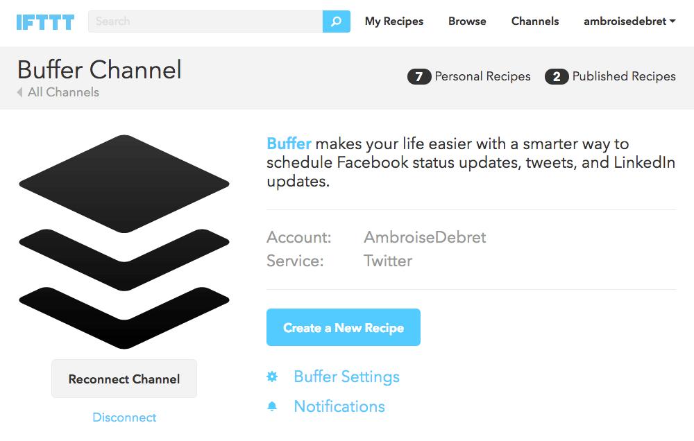 Buffer Twitter