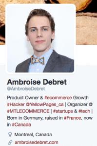 Ambroise Debret Twitter