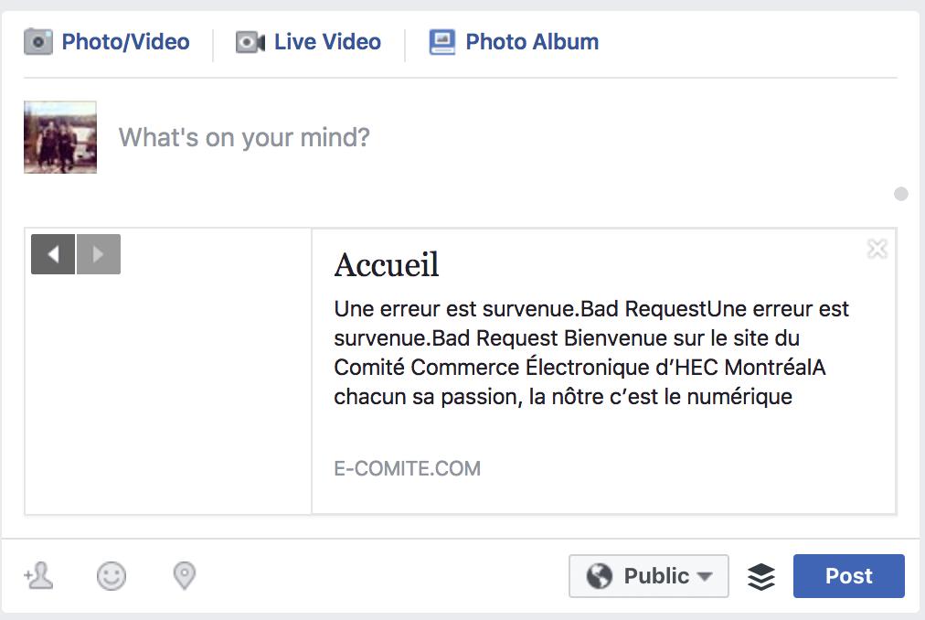 Bad Facebook Share OGs