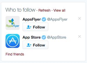 Twitter Find Friends