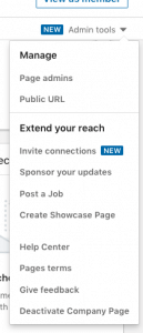 how to invite connections to follow your linkedin company page
