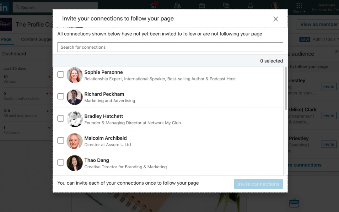 How to Invite Connections to Follow your LinkedIn Company Page FAST [Exclusive Script]